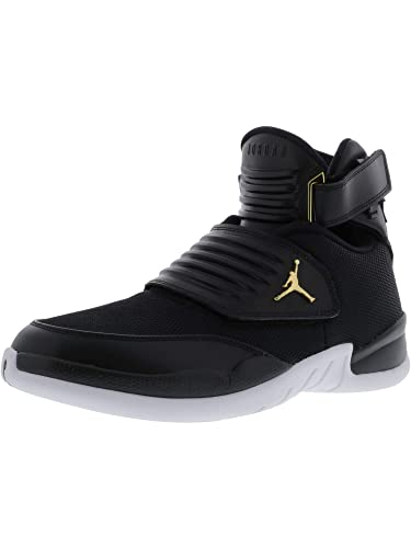 74a614aa4ce2 Nike Men s Jordan Generation 23 Black   - White Ankle-High Basketball Shoe  9M