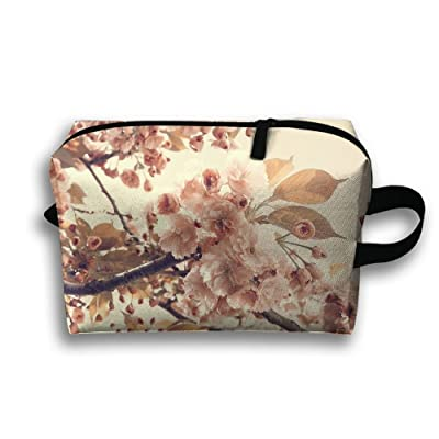 Tree Flowers Painting Travel Bag Toiletries Bag Phone Coin Purse Cosmetic Pouch Pencil Case Tote Multifunction Organizer Storage Bag free shipping