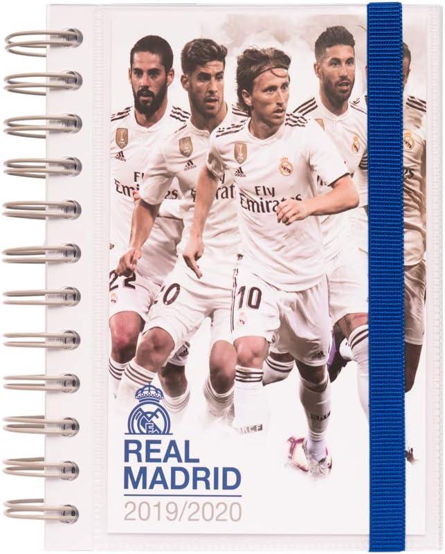 Agenda escolar 2019/2020 día página S Real Madrid