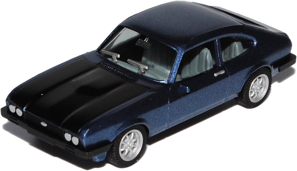 Brekina 19554 Ford Capri RS weiß blau