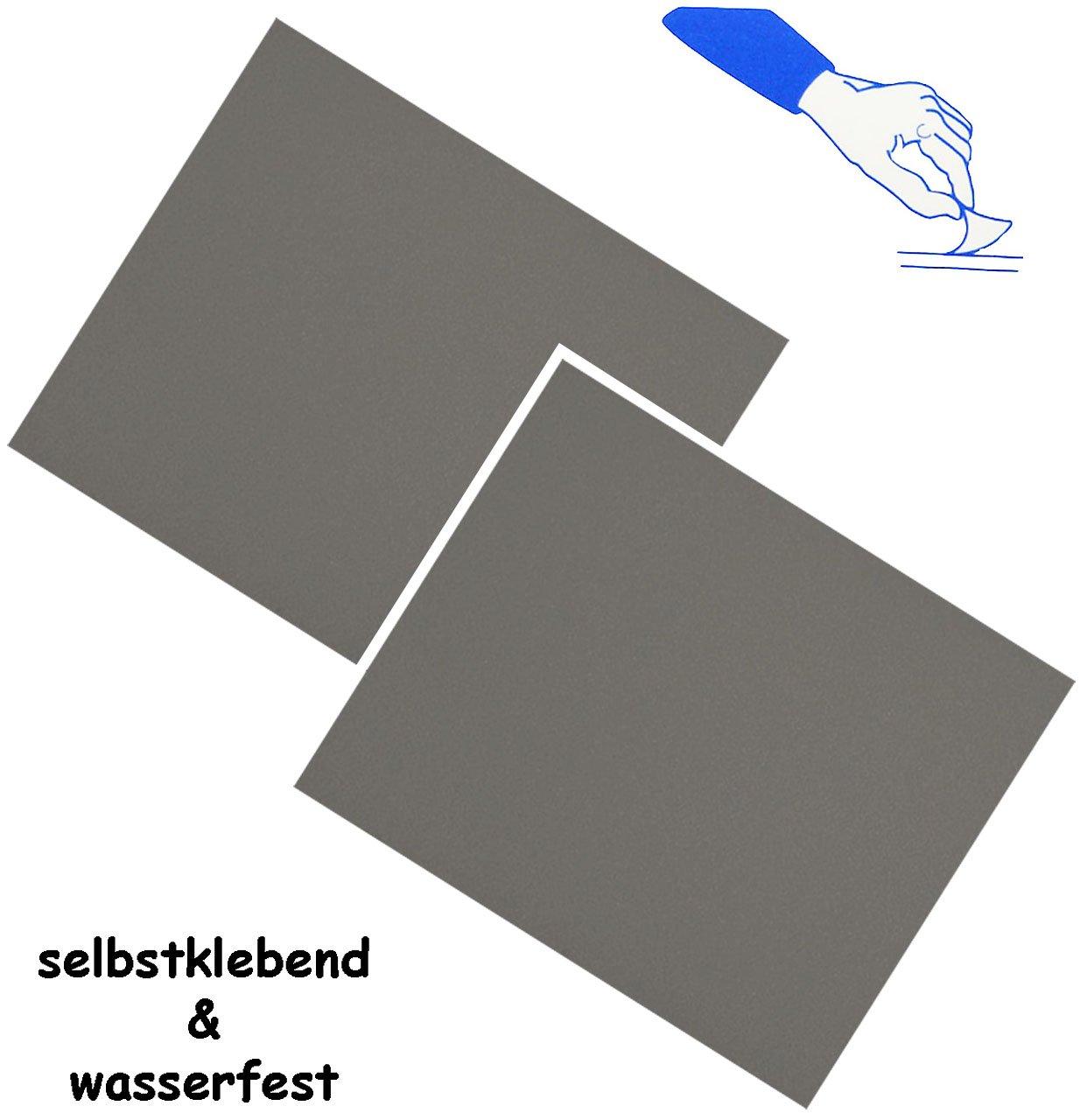 alles-meine.de GmbH 2 St/ück /_ Reparatur Aufkleber // Flicken beige // Creme Nylon selbstklebend hautfarben f/ür Bekl.. wasserabweisend /& wasserdicht Sticker // Kleber