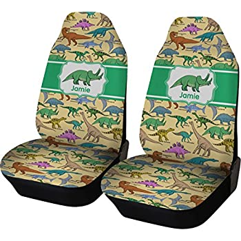 Amazon.com: Dinosaur Print Car Seat Covers (Set of Two ...