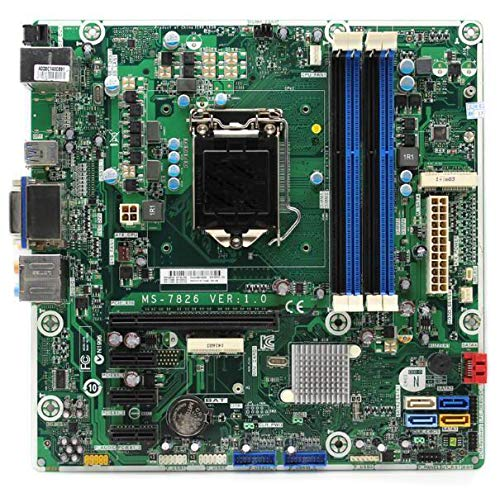 REFIT Through Test, The Quality is 100% Desktop Motherboard for MS-7826 Z87 LGA 1150 698749-002 717068-501 System Board Fully Tested by REFIT