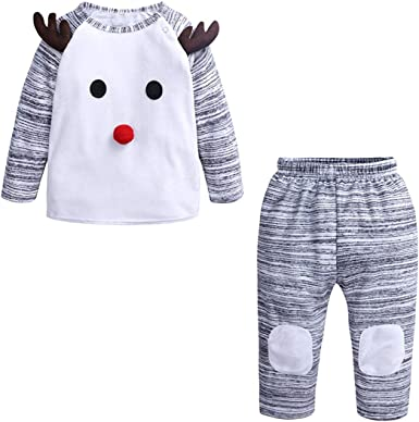 Newborn Clothes For Newborns Girl Kids Clothing Christmas Outfit Size 24M 12M 3M