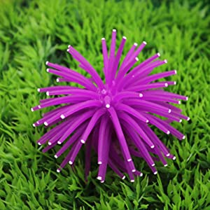 FairOnly Mini Simulation Sea Urchin Ball Aquarium Fish Bowl Decoration Convenient Life