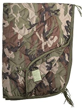 Poncho liner dormir de viaje bolsa acolchada acolchado Mat Ripstop francés ejército CCE camuflaje por Mil-Tec: Amazon.es: Deportes y aire libre