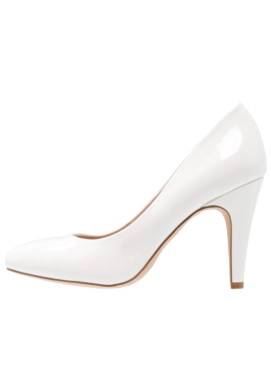 Anna Field Tacones de Mujer EN Negro, Nude, Blanco o Gris - Zapatos de Mujer de Charol con Tacón Elegante - Tacones de Charol Elegantes de Fiesta o de Trabajo - Zapatos de Vharol de Mujer