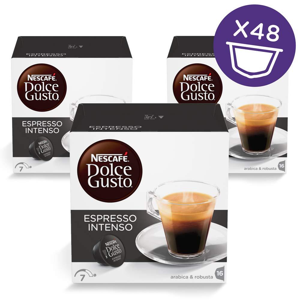 NESCAFÉ Dolce Gusto Coffee CapsulesEspresso Intenso48 Single Serve Pods, (Makes 48 Cups)48 Count