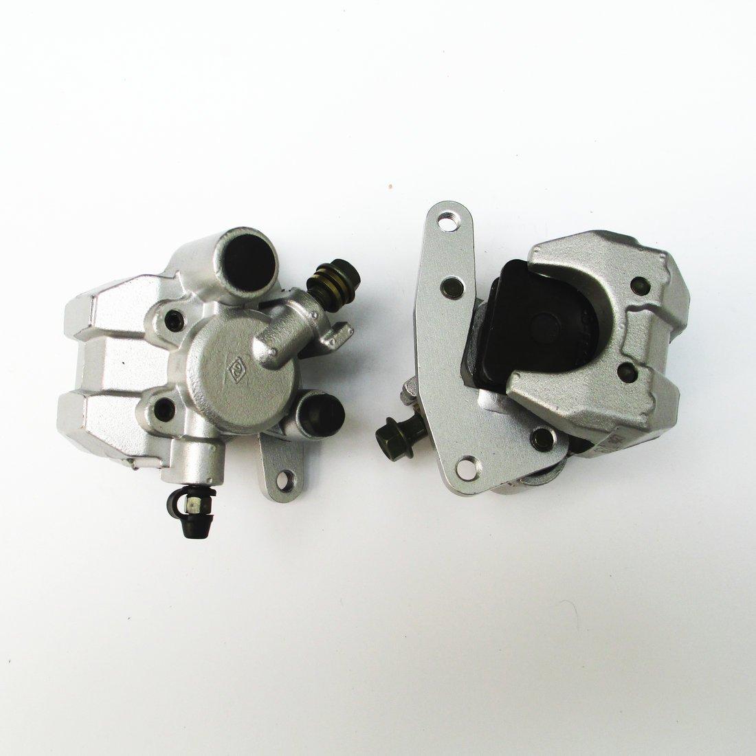 New Front Brake Caliper Set for YAMAHA RAPTOR KODIAK WOLVERINE YFM350 400 45 660 NEW by WADS1000292 (Image #3)