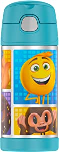 Thermos Funtainer 12 Ounce Bottle, Emoji Movie