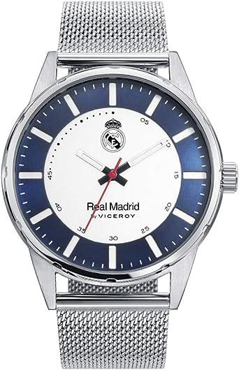 Reloj de Hombre Viceroy Real Madrid tres agujas de acero y