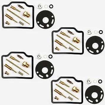 4x Kit Reparación Carburador Aguja del flotador Getor CAB-H13: Amazon.es: Coche y moto