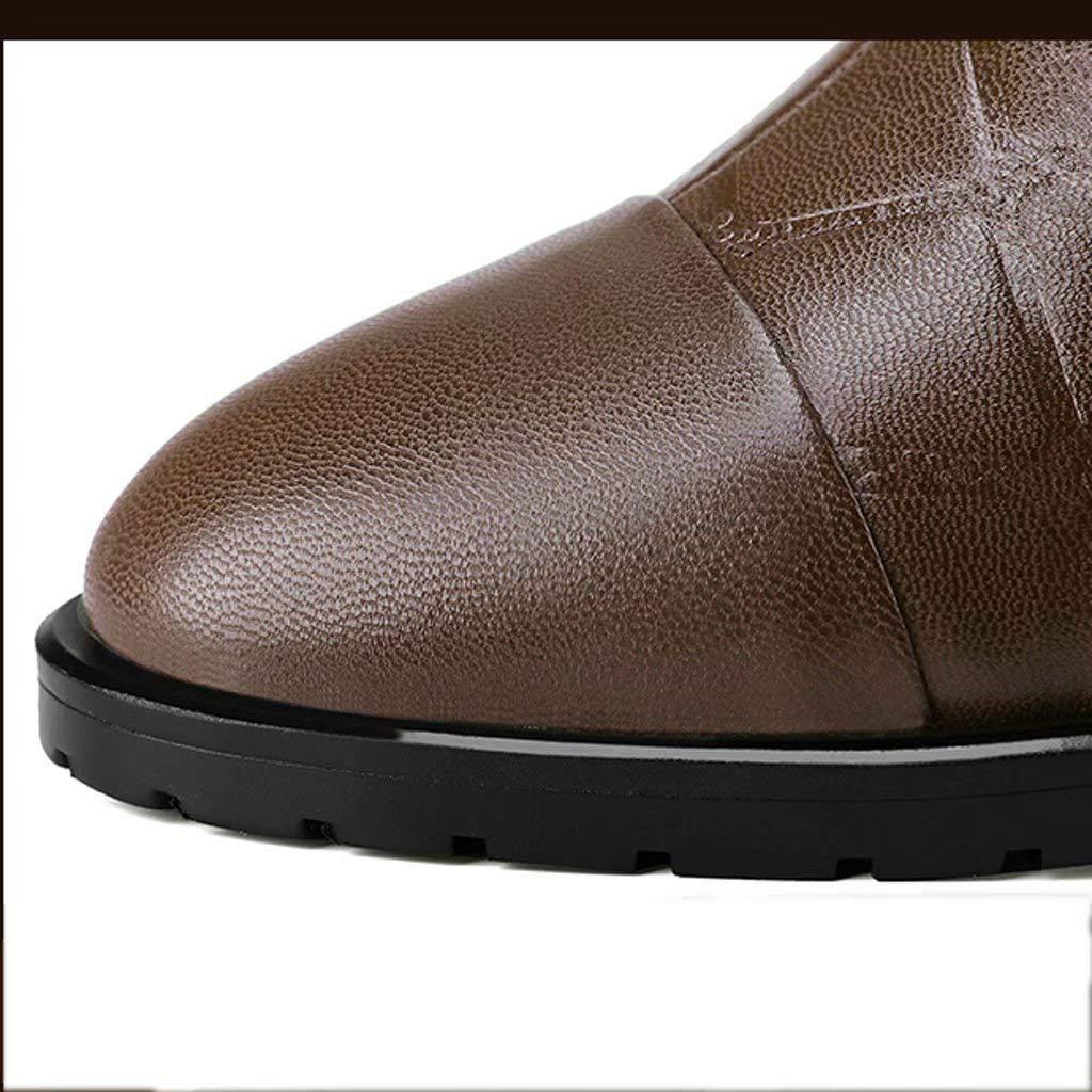TK-schuhe Chesil Short Stiefel Weiblich England Dick Mit 2018 Winter Leder Plus SAMT Leder Winter Mit Martin Stiefel Retro Runde Kopf Stiefel 53c533
