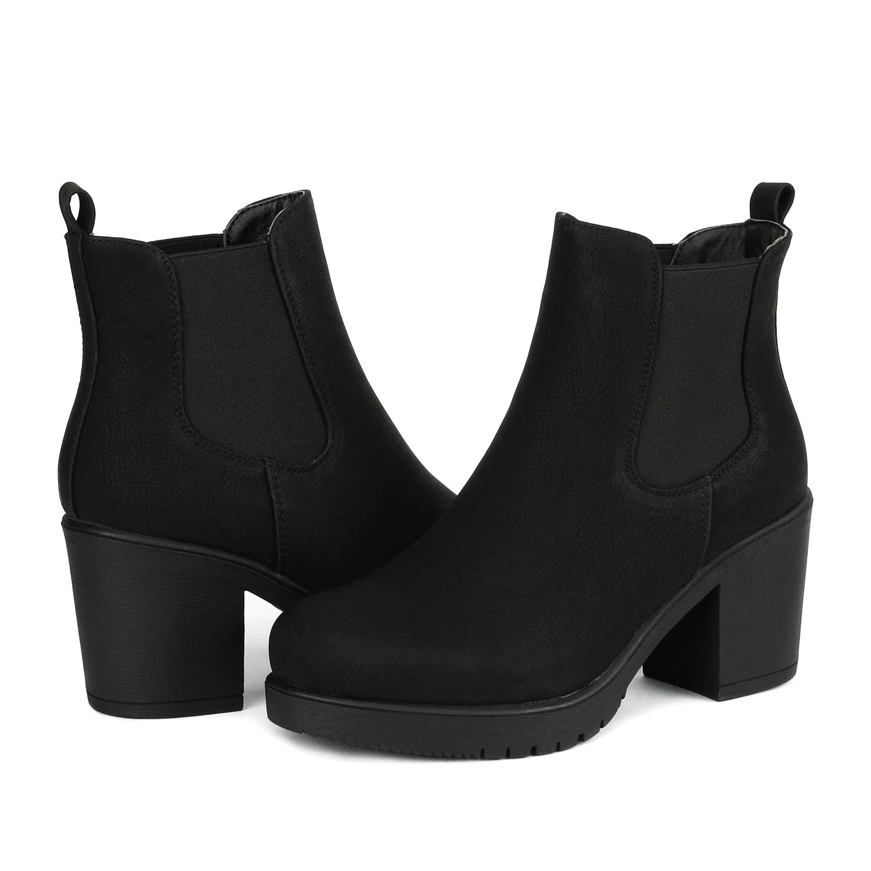 8e0efda63928d DREAM PAIRS Women's High Heel Ankle Boots