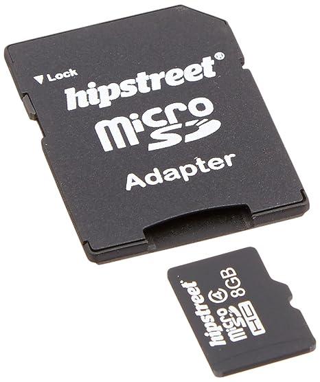 Amazon.com: kobian hs-microsd-8gb Hipstreet – Tarjeta Micro ...