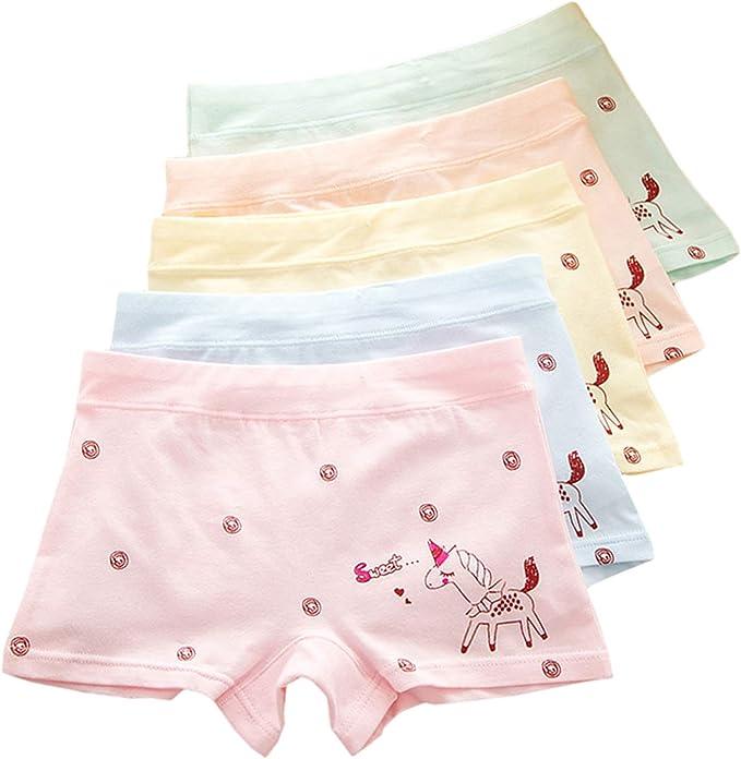 XPX Garment 5 Pack niñas algodón Boyshorts Lovely Boxers Ropa ...