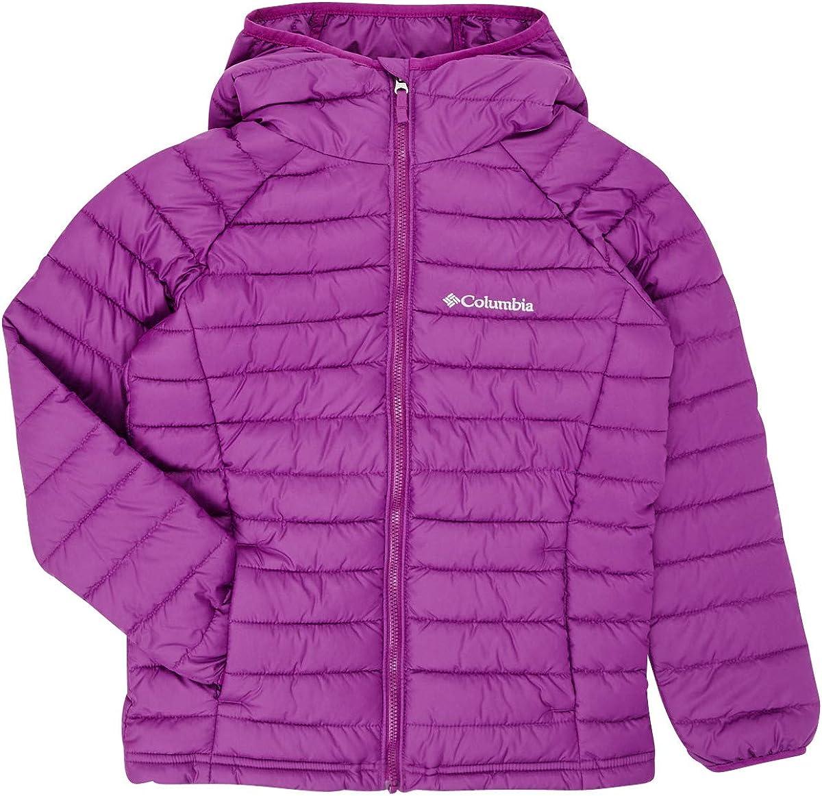 Columbia Youth Powder Lite Chaqueta con capucha para niña