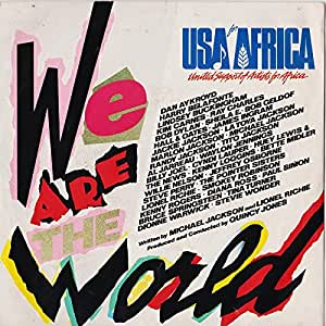 USA For Africa – We Are The World (7 inch)
