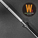 15lb Training Barbell by Fringe Sport / Entry Level Bar for Novice Lifters, Teens, and Children