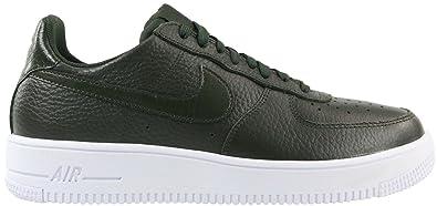 NIKE Herren Air Force 1 Ultraforce Grün Leder Sneaker