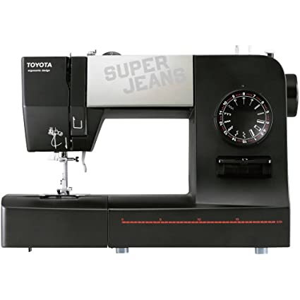 Toyota SJ15B Super Jeans Sewing Machine, Black