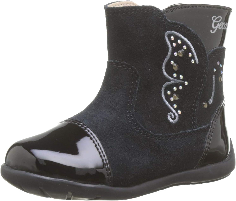 enchufe Sabueso después del colegio  Geox B Kaytan C, Botas Niñas: Amazon.es: Zapatos y complementos