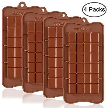 Break Apart Schokolade, sourceton 4 FDA genehmigt Lebensmittelechtes Antihaft-Energy Bar und Protein Formen