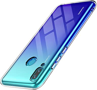 anccer Funda para Huawei P Smart 2019, Silicona Transparente Protector Gel Ultra Fina Protección Case Compatible para Huawei P Smart 2019 (Transparente): Amazon.es: Electrónica