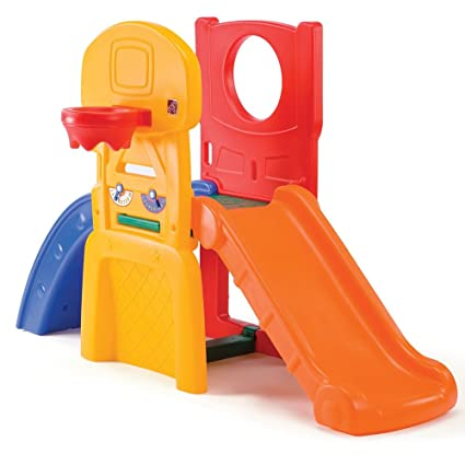 98345919a7af21 Step2 All Star Sports Climber for Toddlers - Durable Outdoor Indoor Kids  Slides with Ball Game