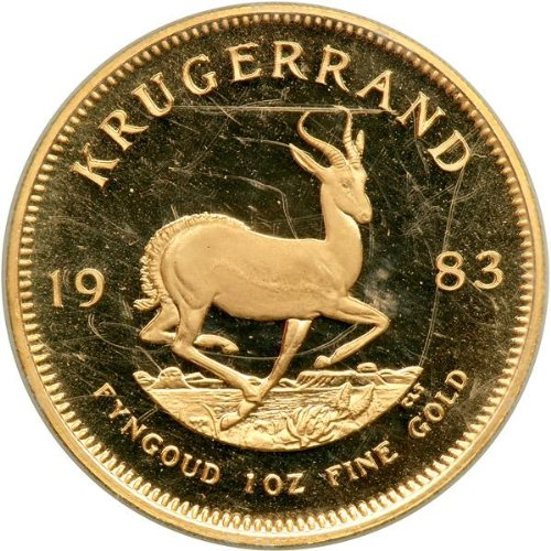 (1 oz) Gold Krugerrand - Random Year