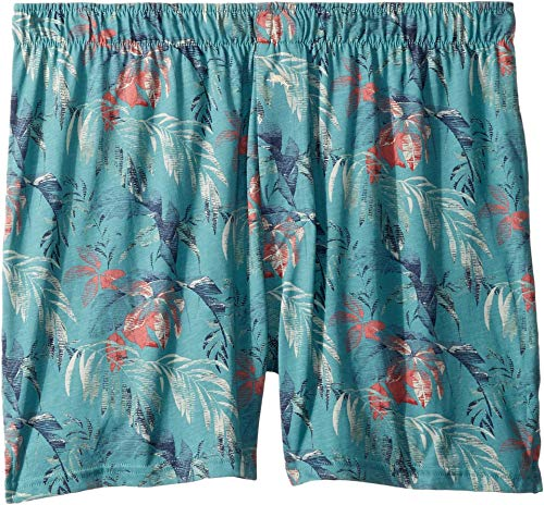 - Tommy Bahama Men's Printed Leaves Knit Boxer Short, line, M