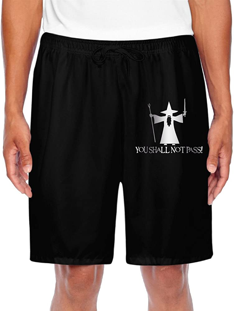 Mens Lord Of The Rings Platinum Style Shorts Gym