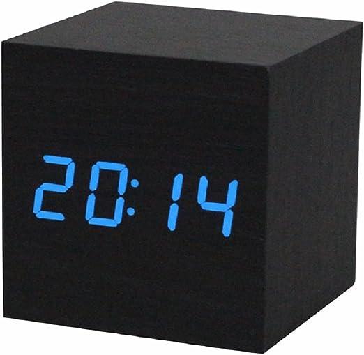 TOOGOO(R) Reloj digital Reloj despertador/reloj de mesa digital ...