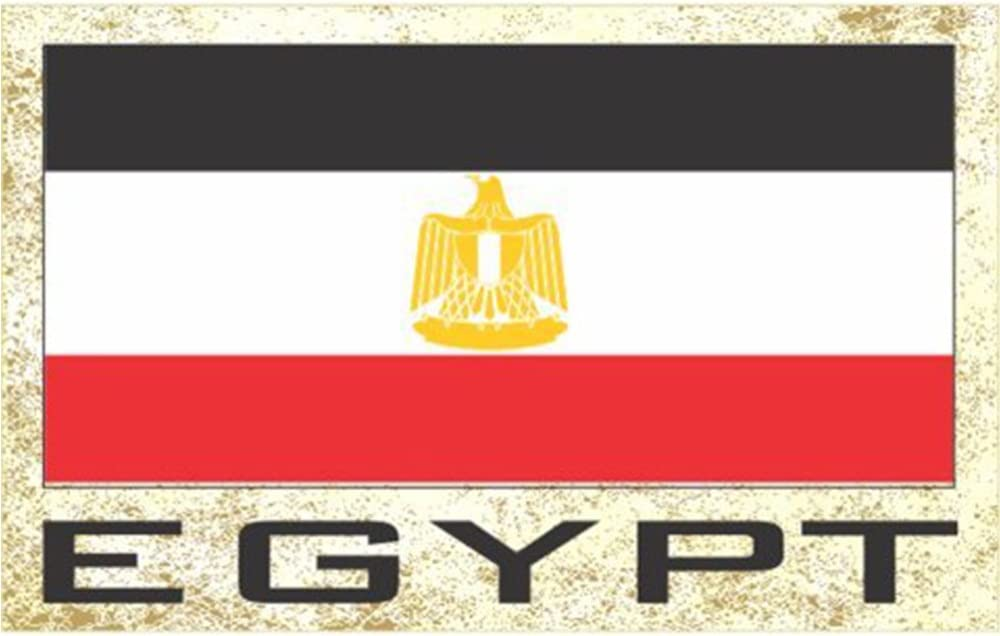 Flag Fridge Refrigerator Magnets – Asia & Africa Group 2 (Country: Egypt)