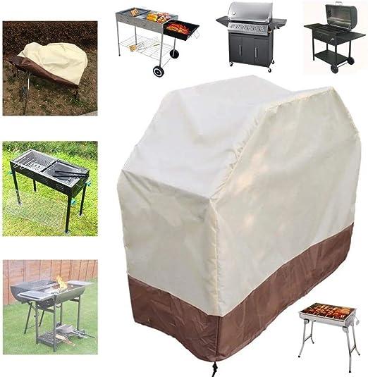 Cubiertas jardín de tabla Jardín al aire libre Cocinar lluvia Protector de parrilla de barbacoa de