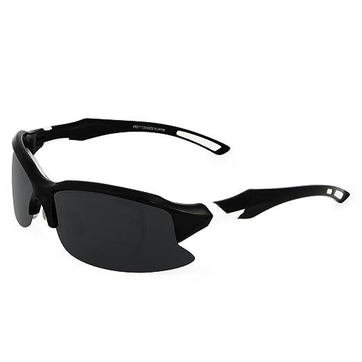 fe1da636ec26 Galulas Polarized Sports Sunglasses for Men Women HD Running Driving  Fishing Cycling Glasses with Myopia Frame