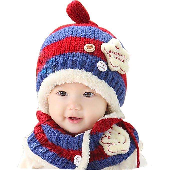 BUOCEANS Cappellini sciarpe bimbi 2a02d6ddcde9