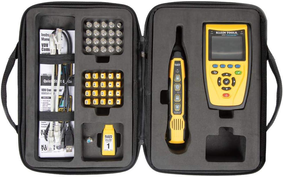 Klein Tools VDV Comandante Kit de prueba