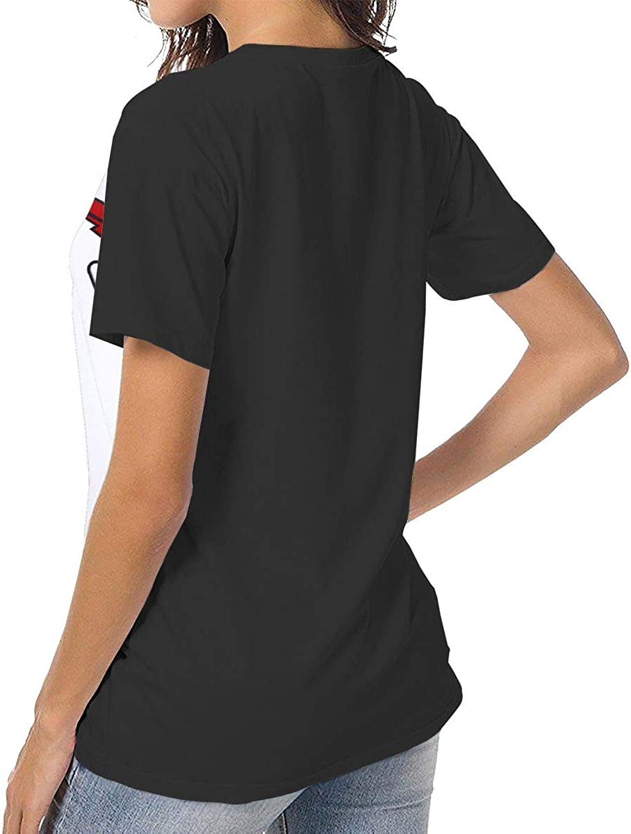 Tops O Neck T Shirts,Can Am Team Pattern,Sleeves for Women