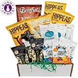 Gluten Free Vegan Chip Box: Variety of Healthy Sweet & Savory Chips – Nuts – Seeds – Fruit Stix – Healthy Care Package Holiday Gift Box