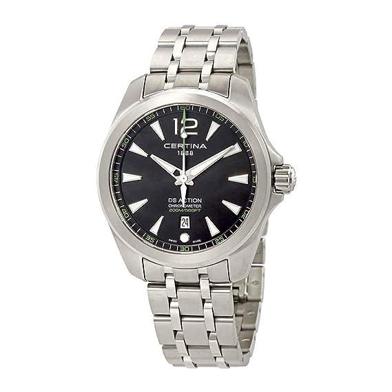 Certina DS Action Diver Reloj de hombre cuarzo 41mm de acero C032.851.11.057.02: Amazon.es: Relojes