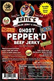 Ghost Pepper'd Beef Jerky-GLUTEN FREE - No Preservatives, Nitrites, or MSG