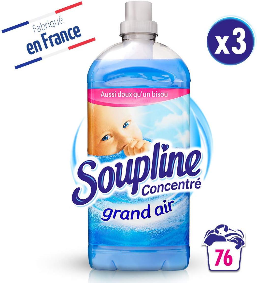 soupline fr04600a–Concentrado Grand Air 1,9L––Juego de 3
