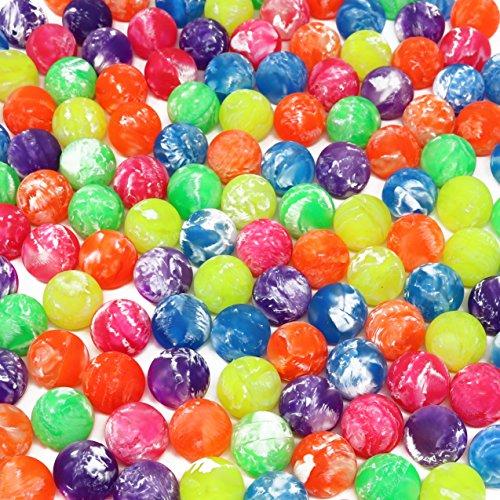 Hi Bounce Ball Assortment Bulk Pack Of 144 Bouncy Balls (Rubber Balls Bouncy)