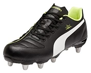 e32a4b535c1c Puma Mens evoPower4 Rugby Boots - 6.5UK  Amazon.co.uk  Shoes   Bags