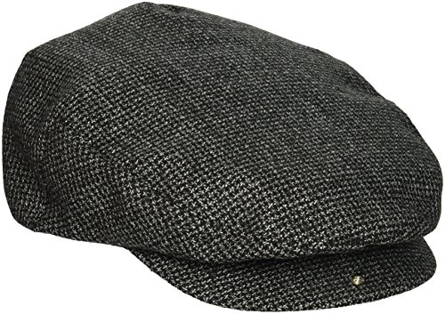 UPC 888588144220, Brixton Men's Hooligan Snapdriver's Cap, Black/Grey, Medium