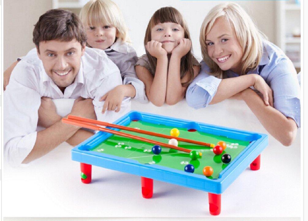MINI POOL TABLE Flocking desktop simulation billiards Novelty Mini billiards table sets children's play sports balls Sports Toys