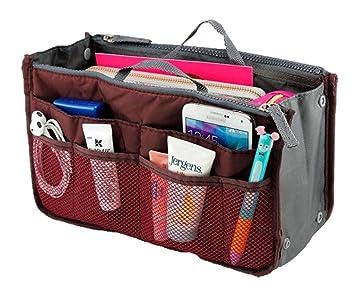 Amazon Com Lady Women Travel Insert Handbag Organiser Purse Large