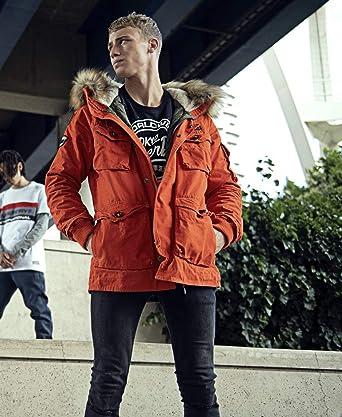 8b7df709e011d2 Superdry Mens Rookie Heavy Weather Rescue Orange at Amazon Men's Clothing  store: