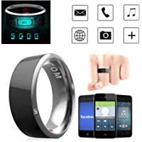 Leagway R3 Smart Ring, Waterproof Dust-Proof Fall-Proof Smart Ring for Android Windows NFC Mobile Phone, Multifunction Magic Finger Ring for Samsung Xiaomi HTC LG Sony Motorola Nokia (#11)